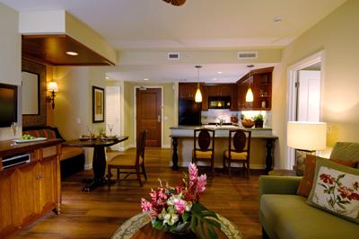 タイムシェアグランドワイキキアン部屋
