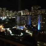 ヒルトンハワイアンビレッジ夜景